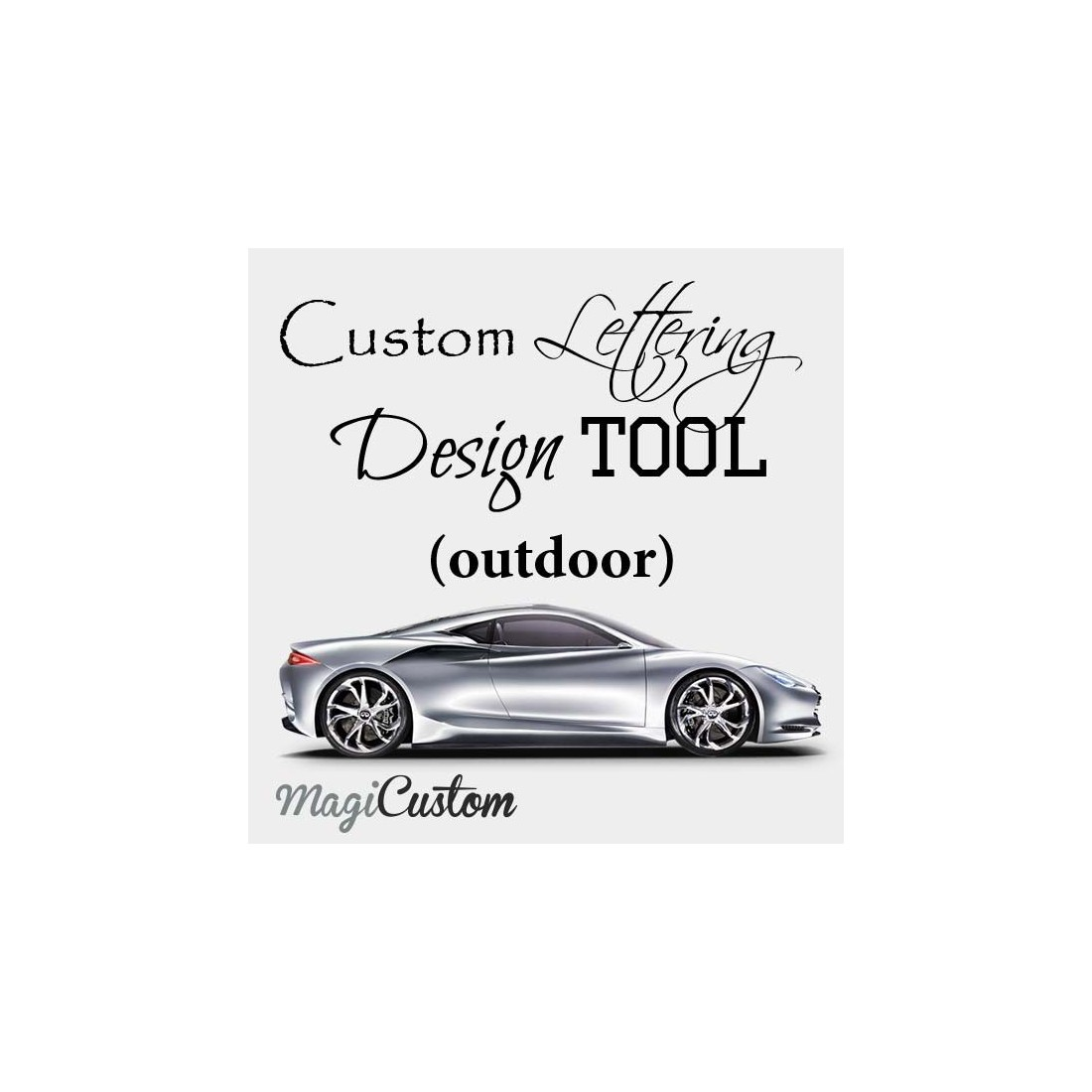 Create Custom Car Vinyl Decals Stickers Online Without Background - How to make your own car decals at home